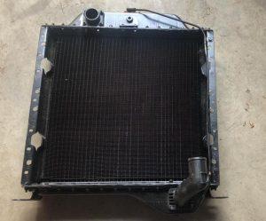 Радиатор водяной М04У13.003-1 (710х630х185) (от двигателя- верх слева,низ справа)