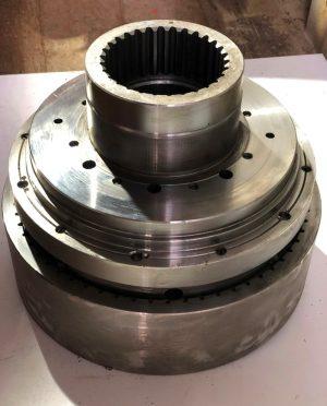 Тормоз колесный У2210.20Н-2-03.100 без проточек  (без дисков)
