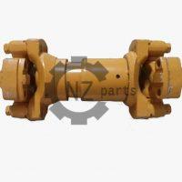 Вал карданный задний (L-240 мм, уши 4 отверстия) SDLG LG956 (оригинал)